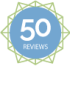 50 Reviews on NetGalley Badge