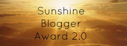 Sunshine Blogger Award 2.0