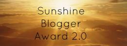 Sunshine Blogger Award 2.0